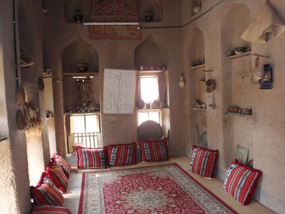 147_Al-Hamra  Bait Al Safah House  Sitting Room called Majlis