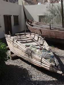 045_Muscat  Bait Al-Zubair Museum  Fishing Boat