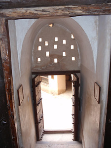 097_Nizwa Fort  17th  C  Stairs for the Second Floor