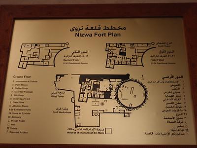 088_Nizwa Fort  Plan  3 Levels