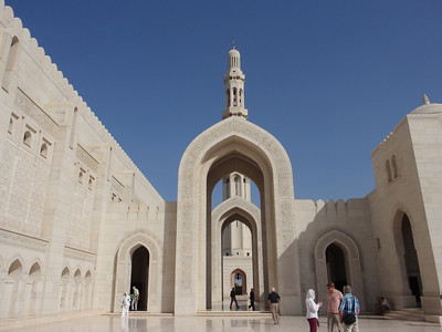 021_Muscat  The Grand Mosque  The Entrance way