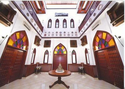038_Muscat  Bait Al-Zubair Museum  House  Bait Al Oud Interior