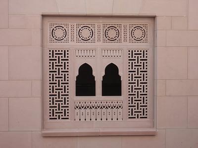 014_Grand Mosque left side  Riwaqs  Window  Stuc Ornament