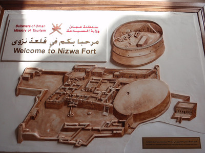 087_Nizwa Fort  17th  C  Fort and Castle Architecture