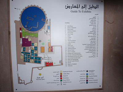 103_Nizwa Fort  Guide to Exhibits