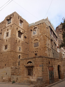 268_At-Tawila  Yemeni Tower Houses Made of Stone