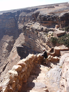 195_Al-Zakatain Fort  The Stone Stairs and The Valley Al-Khanis