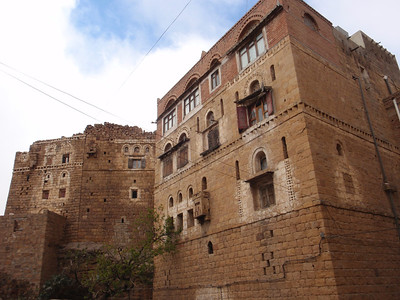 267_At-Tawila  Yemeni Tower Houses Made of Stone