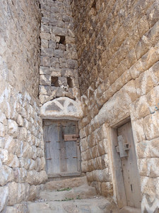 372_Al Hajjarha  Tower Houses and Stairs, Made of Stone