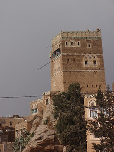 259_At-Tawila  Yemeni Tower Houses Made of Stone