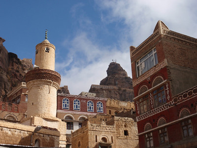261_At-Tawila  Yemeni Tower Houses Made of Stone