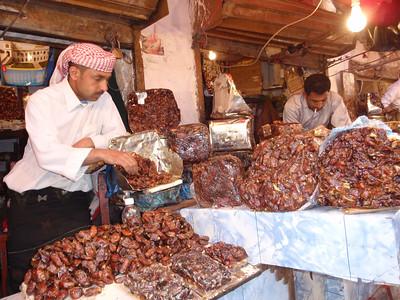 092_Old San'a  Various Souq  Palm Dates Shop