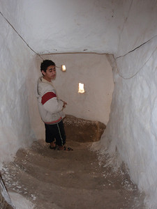 290_Al-Mahwit  The Old Town  Inside a House, the Stairs