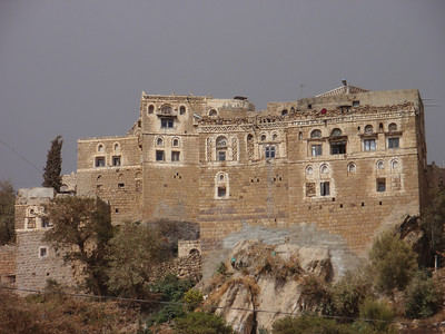 258_At-Tawila  Yemeni Tower Houses Made of Stone