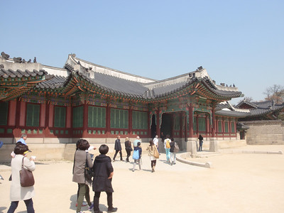 069_Seoul City  Changdeokgung Palace  Huijeongdand  Hall  Served as a place of work and bed chambers for the king jpg