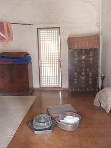 209_Middle Class Farmer's House in the Southern Part  Inner and outer wings are paralleled  The wide wooden floor allows to be cool in summer time jpg