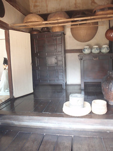 191_Manor House in the Southern Part  The various types of wooden floor are distinguised throughout the house to be cool during hot weather season jpg