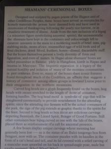 642_Banaue  Museum of Cordilleran Sculptures  Shaman's Ceremonial Boxes