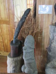 661_Banaue  Museum of Cordilleran Sculptures  Ceremonial Phalluses