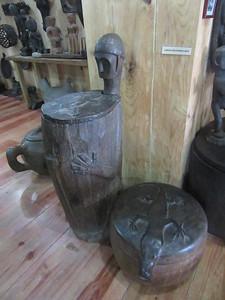 665_Banaue  Museum of Cordilleran Sculptures  Chests for Storing Rice