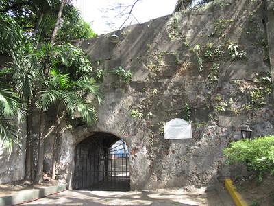 039_Manila  Fort Santiago  Postigo De La Nuestra Senora Del Soledad  A passage to the Pasig River