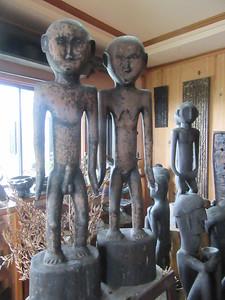 643_Banaue  Museum of Cordilleran Sculptures  Ifugao Granary Deities  Bulul, Rice Gods