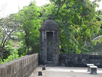 029_Manila  Old Intramuros  Fort Santiago  Medio Baluarte De San Francisco