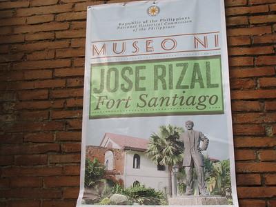 041_Manila  Old Intramuros  Fort Santiago  Plaza De Armas  The Rizal Shrine