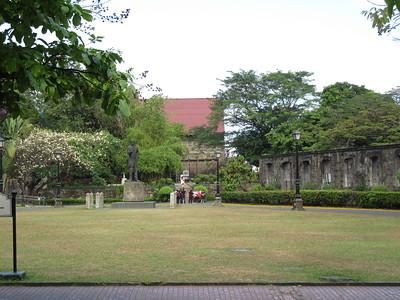 023_Manila  Old Intramuros  Fort Santiago  Plaza De Armas