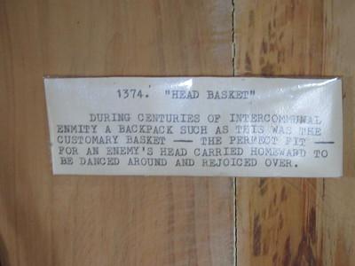 658_Banaue  Museum of Cordilleran Sculptures  Head Basket