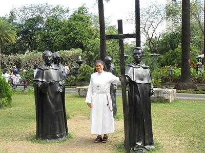 028_Manila  Old Intramuros  Fort Santiago  Plaza De Armas  The Four founding Religious Groups