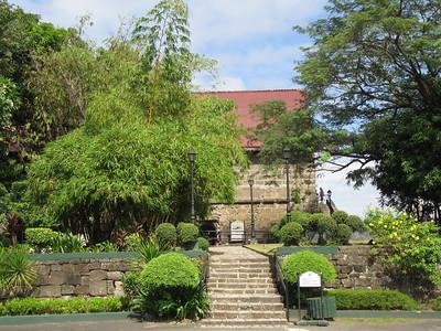 033_Manila  Fort Santiago  Baluarte De Santa Barbara  1592  Built to protect the entrance to the Pasig River