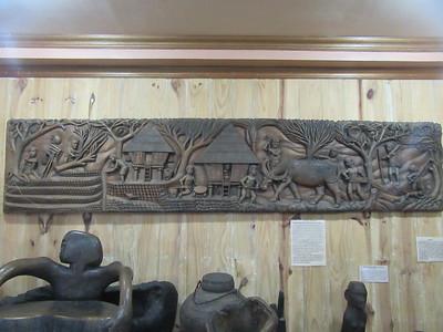 663_Banaue  Museum of Cordilleran Sculptures  Preparing for a Religious Festival