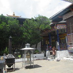 089_Kyichu Lhakhang  Thangtong Gyelpo who came to Bhutan in search of iron ore to be used for constructing bridges in his homeland Tibet