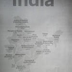 001_India  Population 1,3 billion  18% of the world's population on 2,5% of the world's landmass
