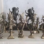 417_Dhamrai  Brass and bronze statues