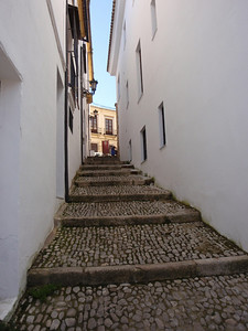 125_Ronda  Narrow Street  Rock-built like Medieval times