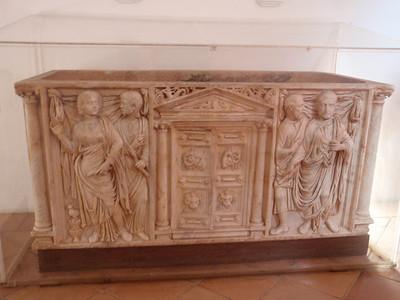 479_Cordoba  Alcazar  Roman Tomb, Door Open  3rd  C  AD