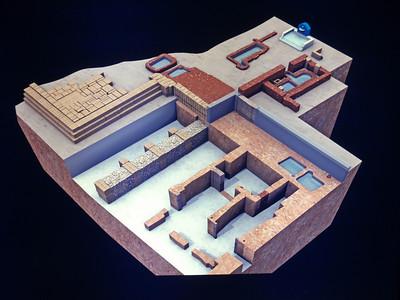 167_Cadiz  Casa Del Obispo  The Roman Building  2nd  C  BC