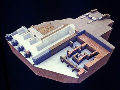 168_Cadiz  Casa Del Obispo  The Roman Building  2nd  C  BC