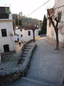 608_Granada  Barrio Albayzin  Narrow streets  Like a maze