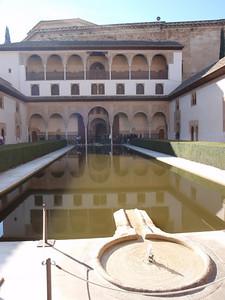 659_Comares Palace  Patio de los Arrayanes  South side  Harem