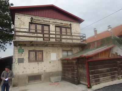 62_Sarajevo  War Tunnel  House of the Kolar Family  Tunnel of Hope  of Life