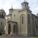 062_Belgrade  Built by ruling  Prince Milos Obremovic, 1815-1889  Ascencion Church  Serbian Orthodox