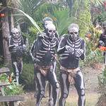 408_Avi Orchid Garden  The Skeleton Boys  Originally from the Simbu Province (west of Mount Hagen)