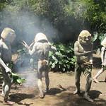 472_Pogla Village  Mudmen dances  They take ownership of the plot