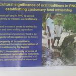 105_Madang  Provincial Museum  Establishing Customary Land Ownership